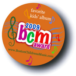 Boston Children's Music  Favorite Kids Albums 2009