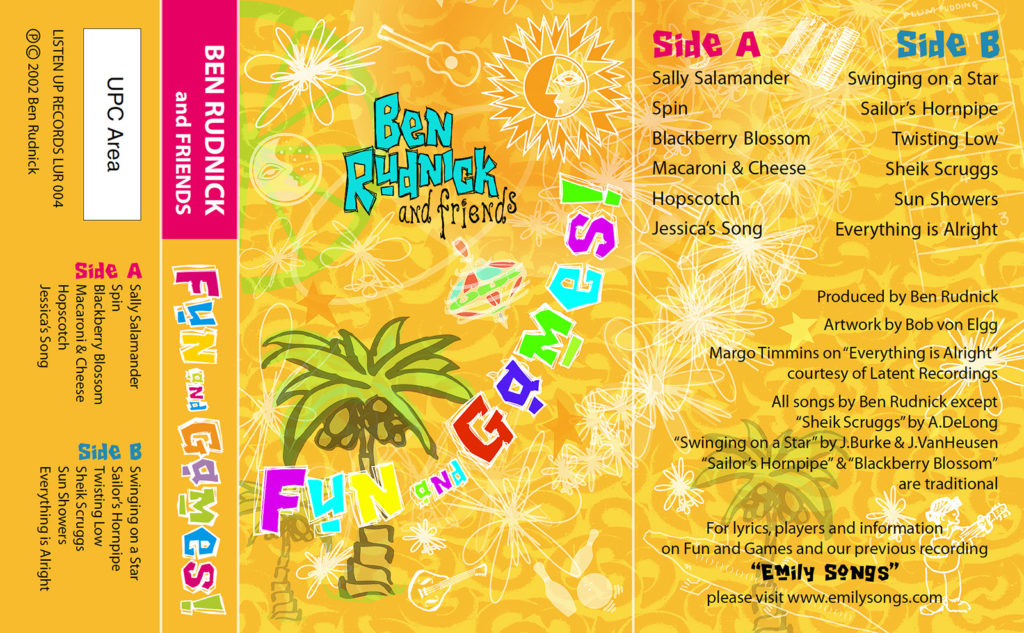 Fun and Games cassette cover
