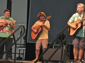 Jamming with Keller Williams
