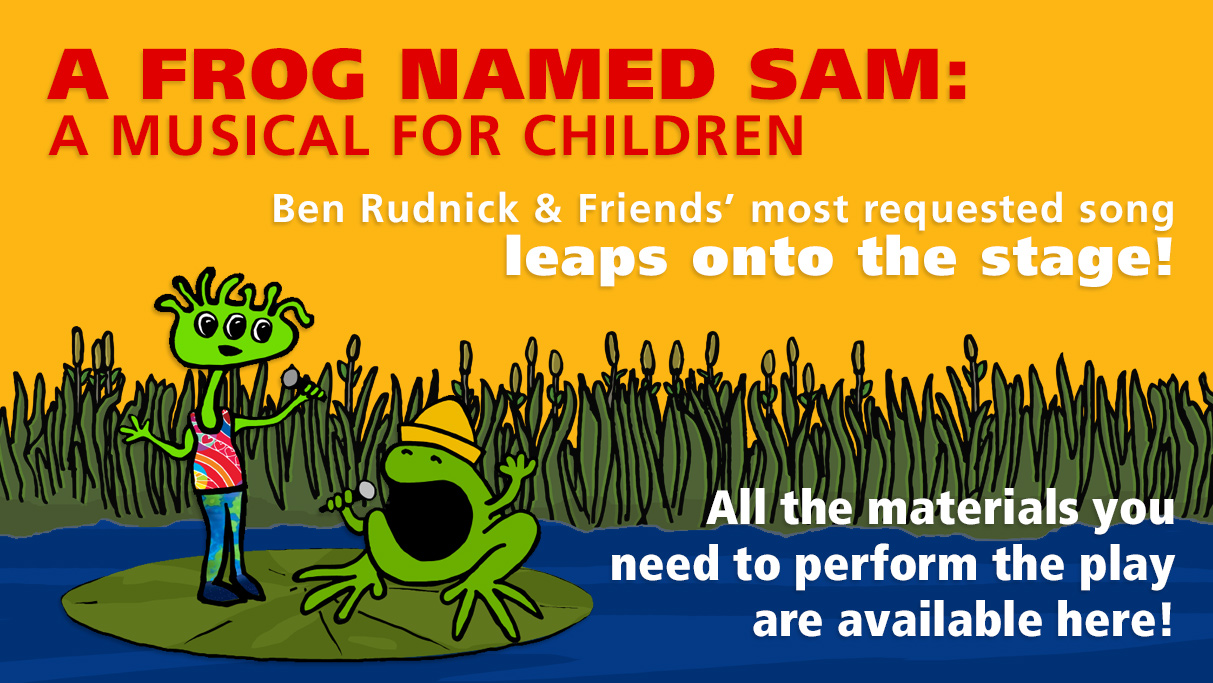 A Frog named Sam: A Musical for Children