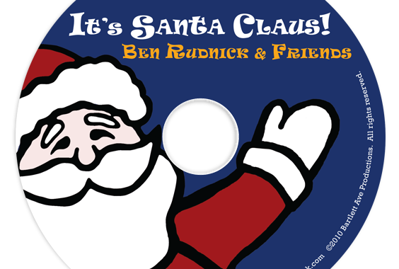 It's Santa Claus! on CD artwork