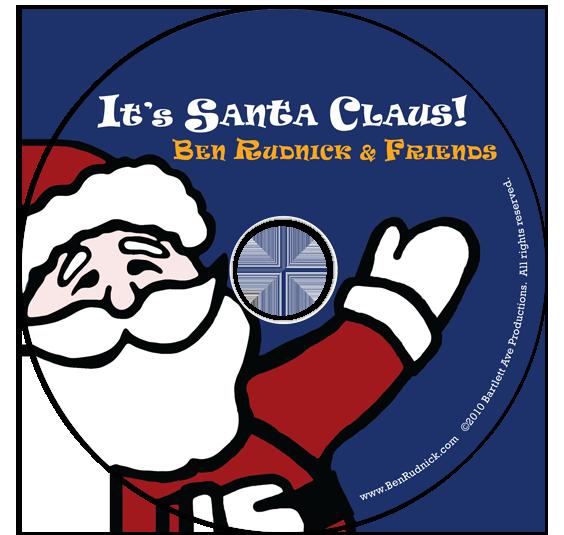 It's Santa Claus! on CD artwork