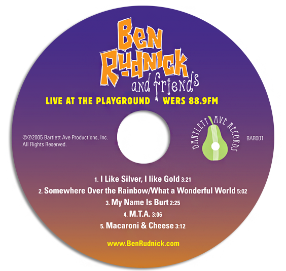 Live at the Palyground WERS 88.9 CD artwork